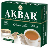 Akbar Green Tea 100 пак
