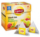 Lipton Grape Raspberry 20 пирамидок