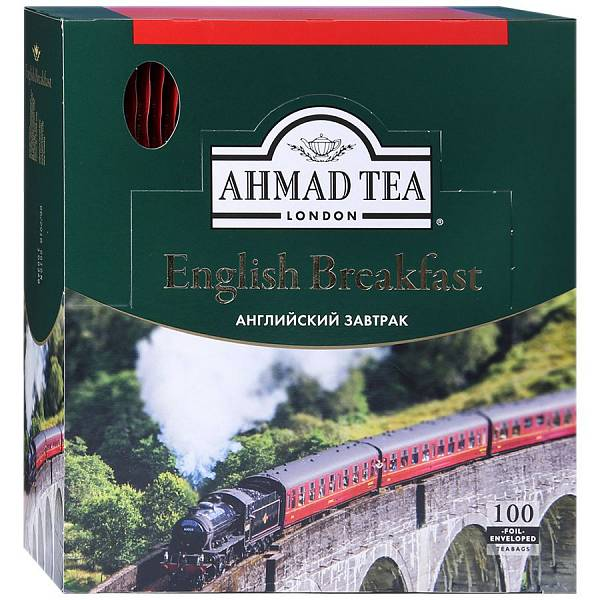 Ahmad Tea English Breakfast 100 пак