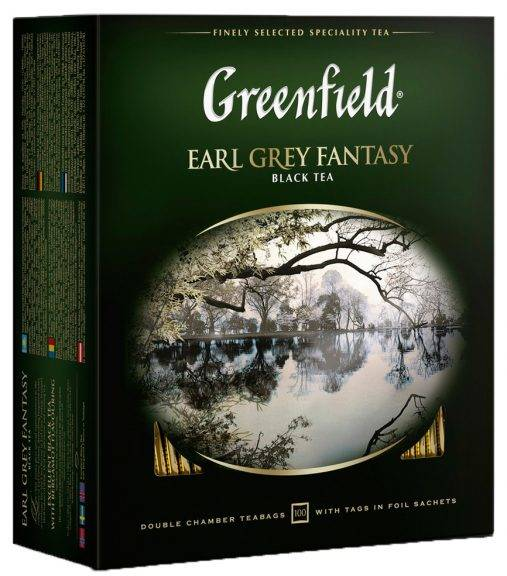 Greenfield Earl Grey Fantasy 100 пак