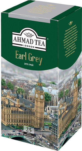 Ahmad Tea Earl Grey 25 пак.