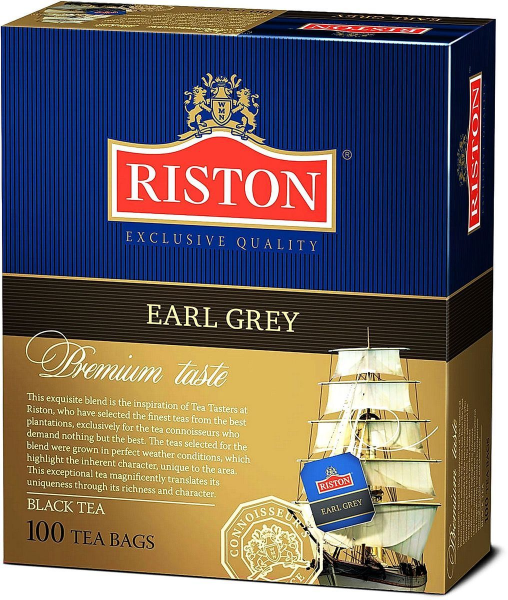Riston Earl Grey 100 пак